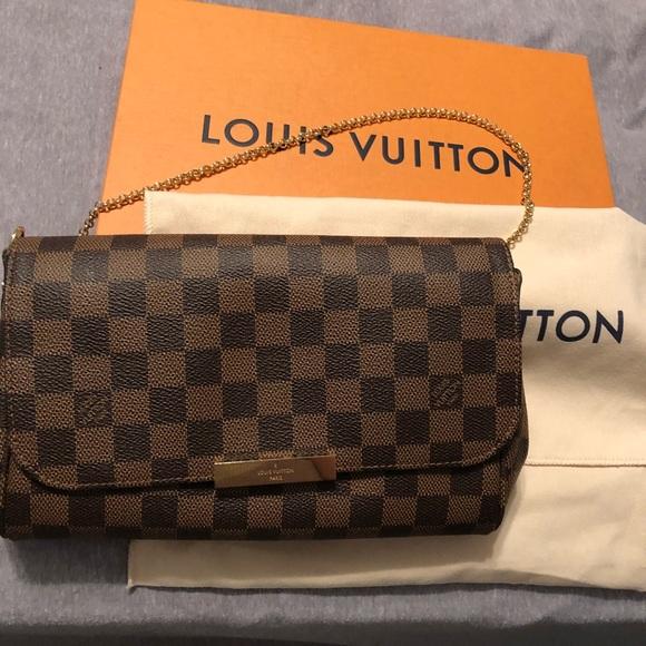 c5776d6a444c Louis Vuitton Handbags - Louis Vuitton favorite MM damier ebene